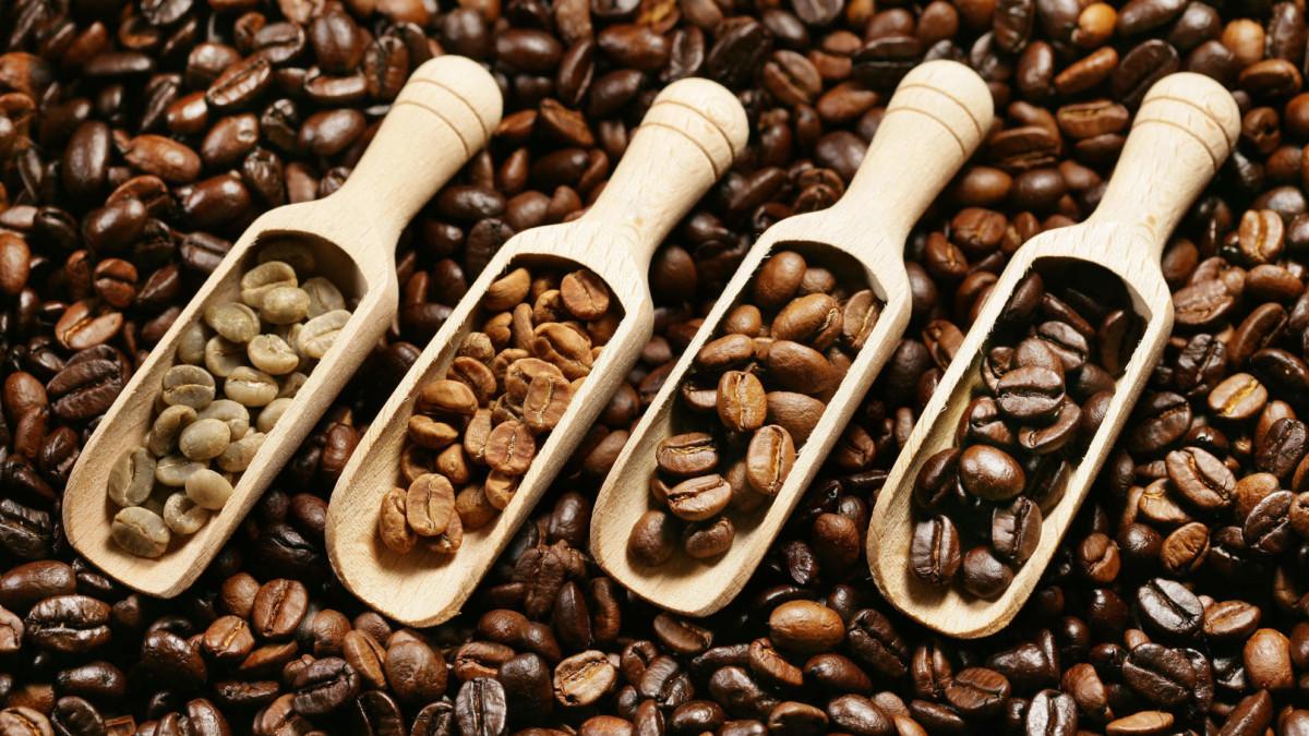 четыре сорта кофе