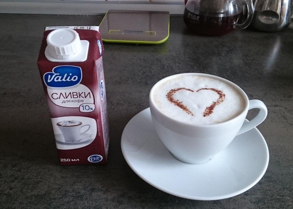 Если боитесь поправиться, то избегайте добавления сливок, лучше их заменить молоком